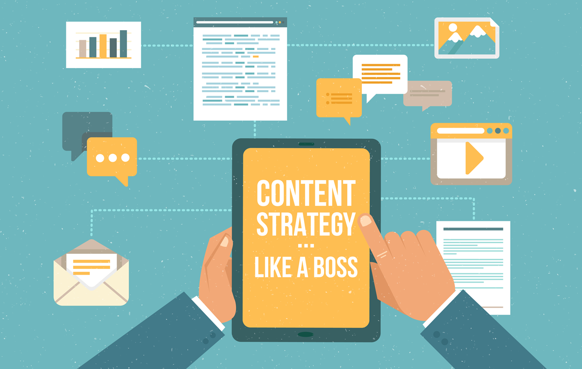 content strategy illustration