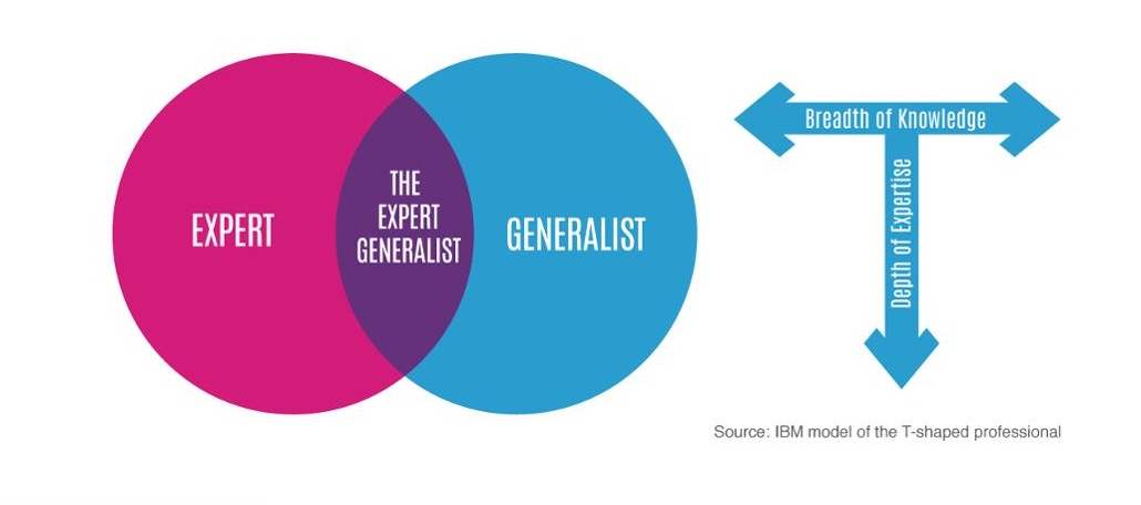 expert generalist diagram